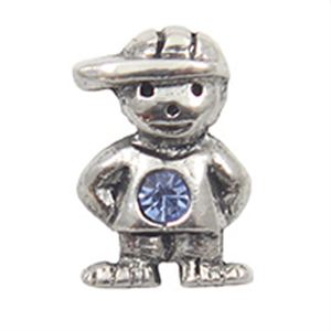 Picture of December Boy Birthstone Charm